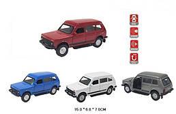 Машинка ВАЗ-2131 Нива коллекционная модель Lada Niva 2131 металлическая, 1:32-1:36, Автопром