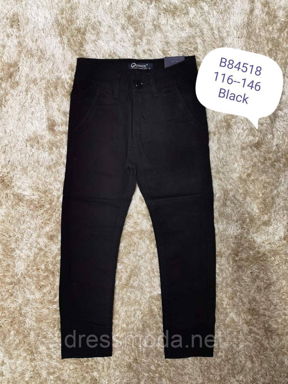 Котонові штани для хлопчиків Grace 116-146 р. р