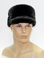 "Норковая мужская меховая шапка ""Конфедератка""."