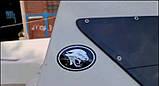 Силиконовая 3D наклейка ПУМА  120х83 мм  2 цвета, фото 3