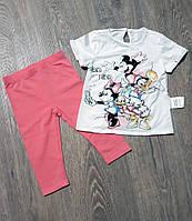 Комплект лосины +футболка  для девочки OVS Италия 2 года (92 рост)