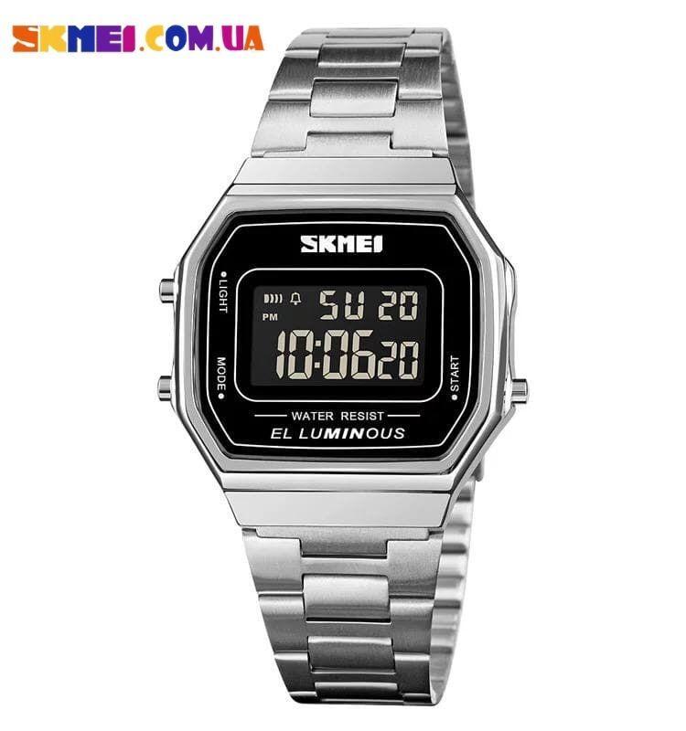 Електронні годинники Skmei 1647 (Silver)