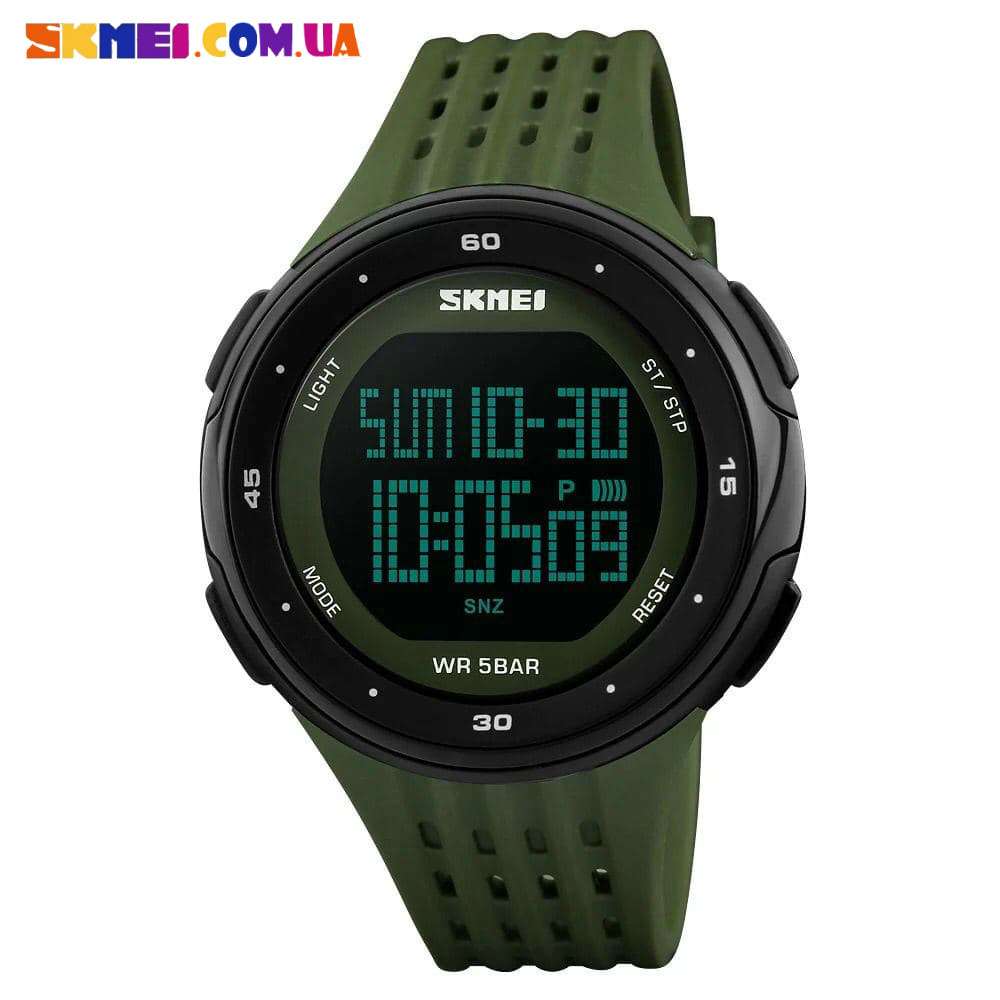 Тактические часы Skmei 1219 (Army Green)