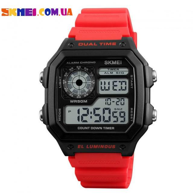 Спортивний годинник Skmei 1299 (Red)