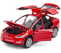Машинка Металлическая Tesla Model X, фото 1