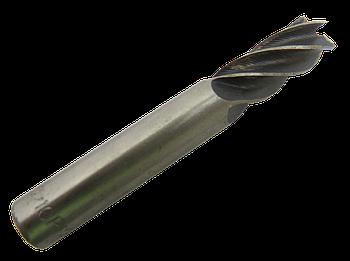 Фреза концевая Ø 10 Z-5 Р12 с цилиндрическим хвостовиком  хв.12