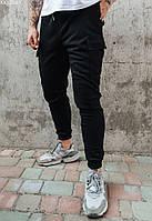 Мужские спортивные штаны карго Staff black cargo чёрный KKK0561
