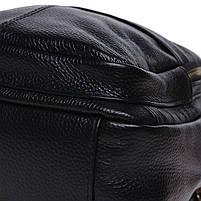 Жіночий шкіряний рюкзак Keizer K11032-black, фото 5