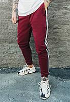 Мужские спортивные штаны Staff bordo lampas бордовый KKK0565