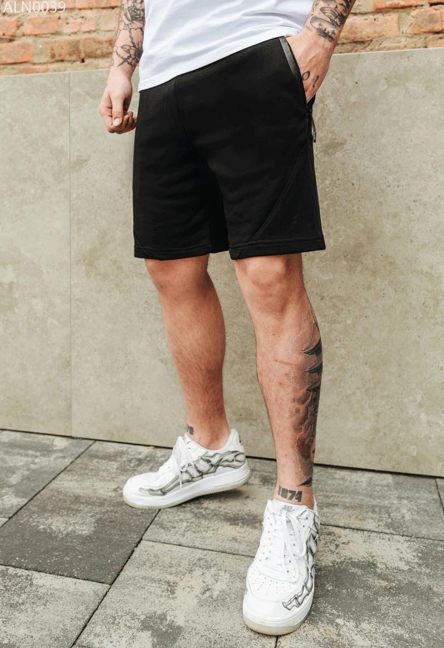 Трикотажные мужские  шорты Staff ron black чёрный ALN0039 XS, 44