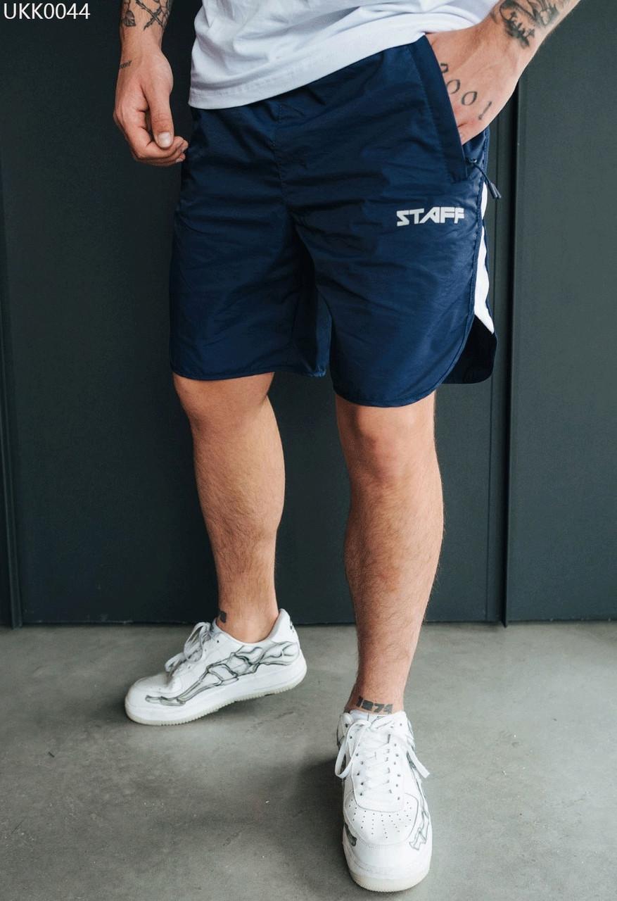 Пляжні шорти Staff navy & white темно-синій/білий UKK0044 S, 46