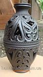 Підсвічник аромалампа двійна керамічна, фото 3