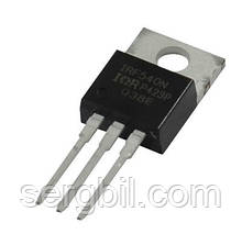 Польовий Транзистор IRF540N - ТО220 FET N-channel 100V, 33A