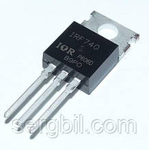 Польовий Транзистор IRF740 - ТО220 FET N-channel 400V, 10A