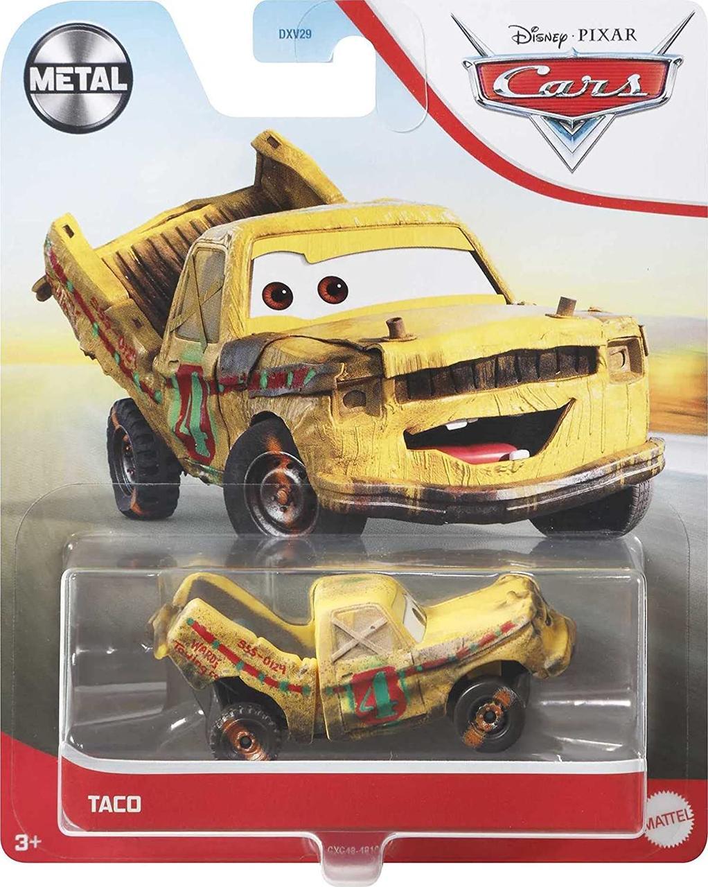 Тачки 3: Тако (Disney and Pixar Cars Taco) от Mattel