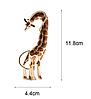 Брошь брошка шикарный огромный 12см жираф кулон подвеска 2 в 1 металл эмаль, фото 2
