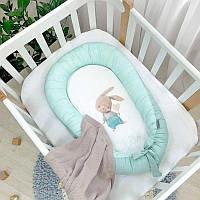 Гнездо кокон для новорожденных Маленькая Соня Ку-ку