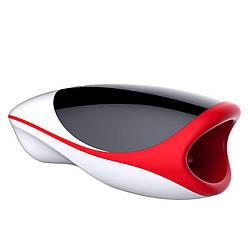 Мастурбатор ротик з язичком Leten Erotic Lips, імітатор мінету, з підігрівом, голосом, 3 мотора