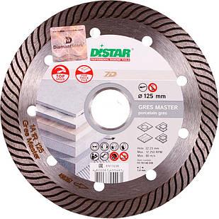 Алмазний диск Distar по кераміці Gres Master 1A1R 125x1,4/1,0x10x22,23 мм (11115160010)