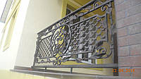 Кованые пирила на балкон