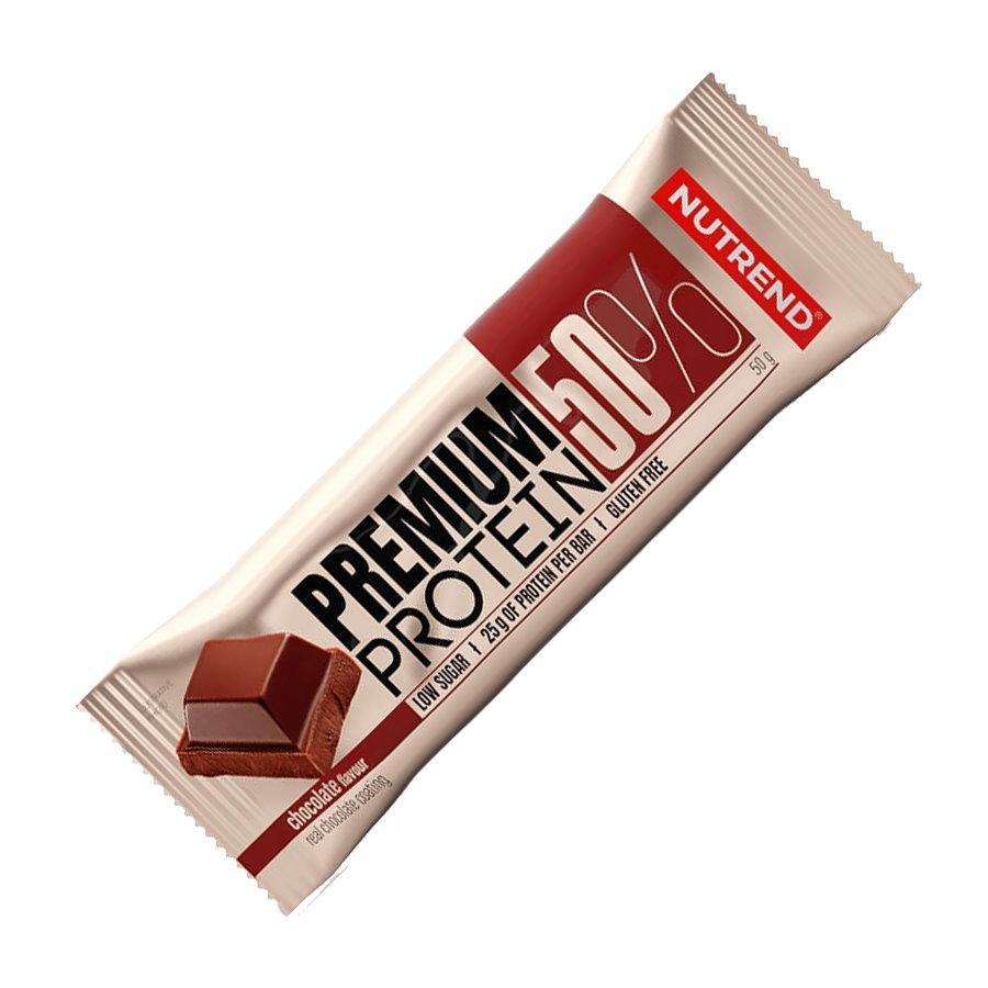 Батончик Nutrend Premium Protein Bar 50%, 50 грам Шоколад