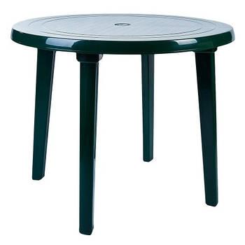 Стіл круглий (зелений) (100011)