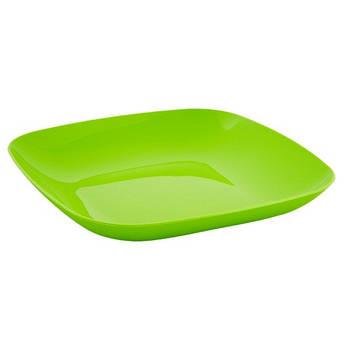 Тарілка 250*250*30 (оливковий) (167063) (10)