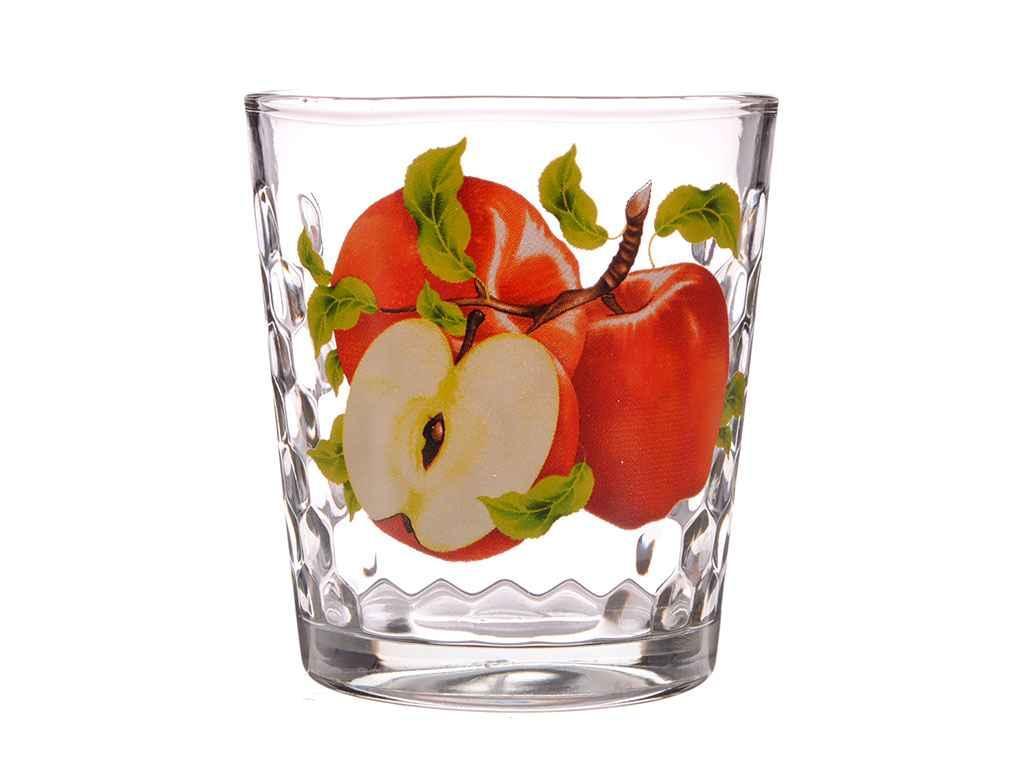 Набір склянок 6шт*250мл низ. Яблуко ТМ ОСБ