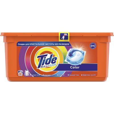 Капсулы для стирки Tide Color 30 шт (8001090758491)