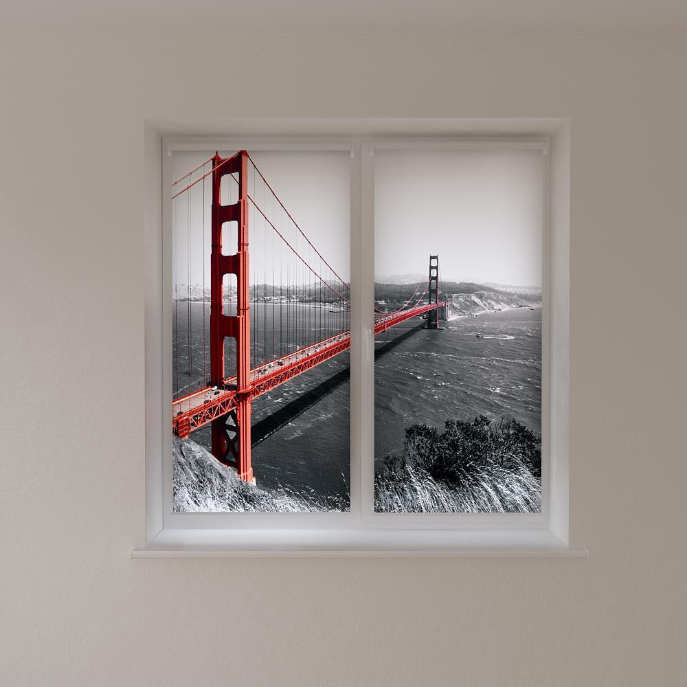 Рулонні штори міст