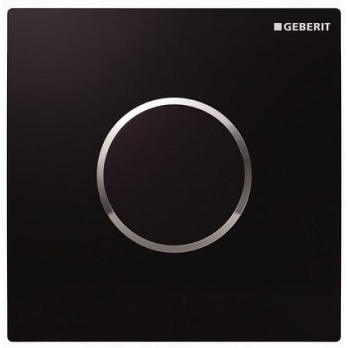 GEBERIT система електронного управління змивом пісуара, живлення від мережі, захисна кришка типу 10: чорна,