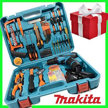 Шуруповерт Makita 330 DWE (12V 5A). с набором инструментов аккумуляторный шуруповерт Макита
