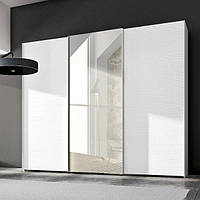 Шкафы-купе 3-х дверные зеркало-пескоструй, фото 1
