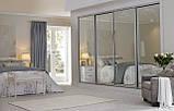 Шкафы-купе 3-х дверные зеркало-пескоструй, фото 2