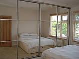 Шкафы-купе 3-х дверные зеркало-пескоструй, фото 5