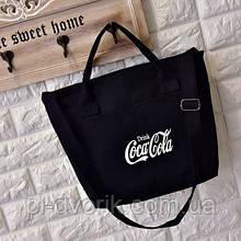 Женская сумка  через плечо цвет модная парусиновая сумка Эко сумка шоппер  Материал:Холщовая