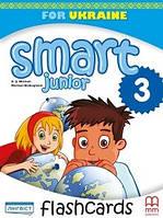 Англійська мова 3 кл Флеш картки Smart junior (Мітчелл)