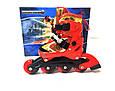Детские ролики комплект с защитой размер 26-29 и 30-33 и 34-37 Мультяшные герои Красный цвет, фото 3