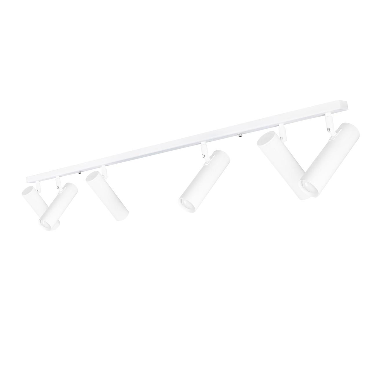 Светильник потолочный MSK Electric с повортными плафонами NL 22501-6 WH