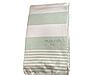 Пляжное полотенце Maison Dor Primavera Beach Green White хлопок 100-200 см зеленое