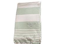 Пляжное полотенце Maison Dor Primavera Beach Green White хлопок 100-200 см зеленое, фото 1