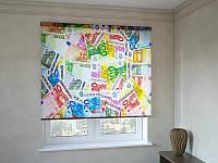 Рулонні штори з фотодруком Євро
