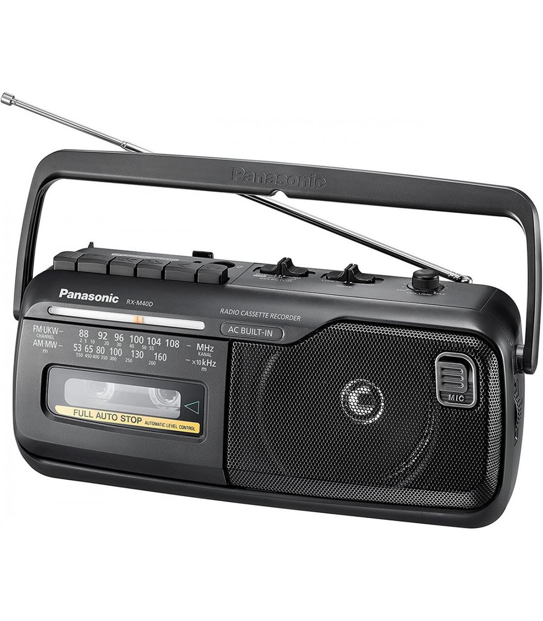 Магнітола Panasonic RX-M40DE-K