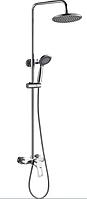 Душевая колонна со смесителем Haiba HANSBERG 003-J латунная хромированная душевая система с тропическим душем