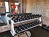 Гантельный ряд от 12 до 30 кг. Общий вес 420 кг, фото 5