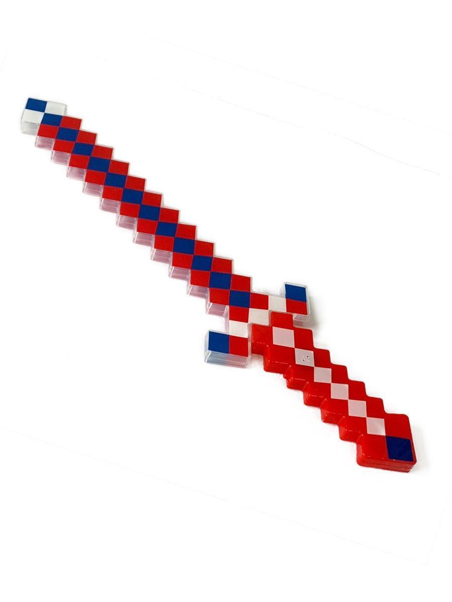 Алмазный меч Майнкрафт со звуковыми и световыми эффектами