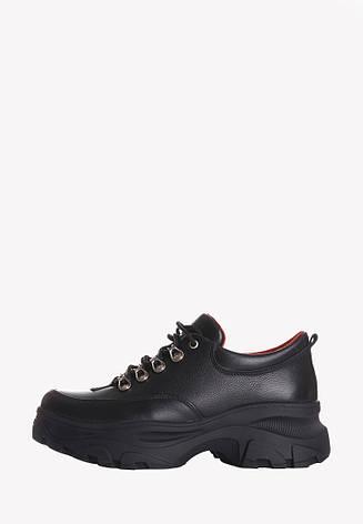 VM-Villomi Круті туфлі з натуральної шкіри на високій платформі, фото 2