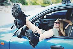 VM-Villomi Круті туфлі з натуральної шкіри на високій платформі, фото 3