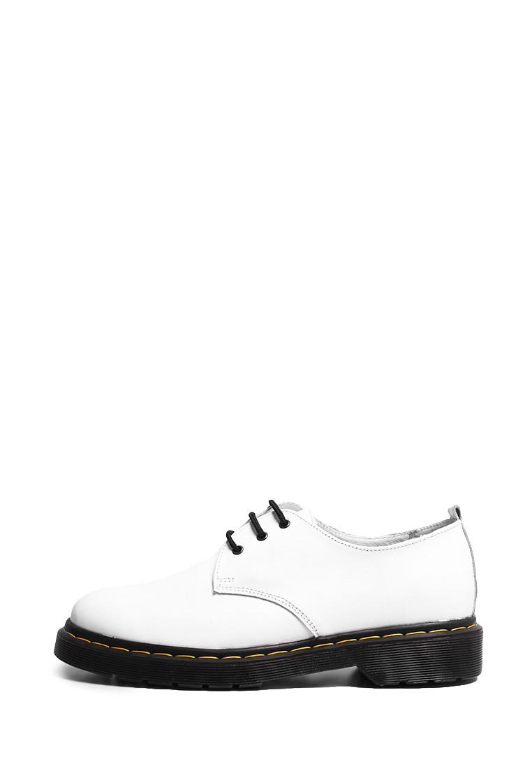 VM-Villomi Шкіряні білі туфлі з ремінцем