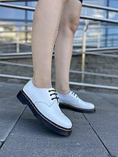 VM-Villomi Шкіряні білі туфлі з ремінцем, фото 2